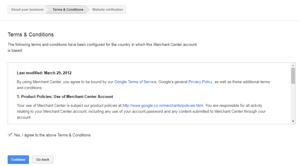 Set up Google Merchant Center Account for your Ecommerce Store