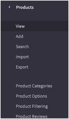 Products Tab