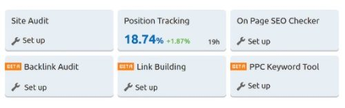 Position Tracking Tools