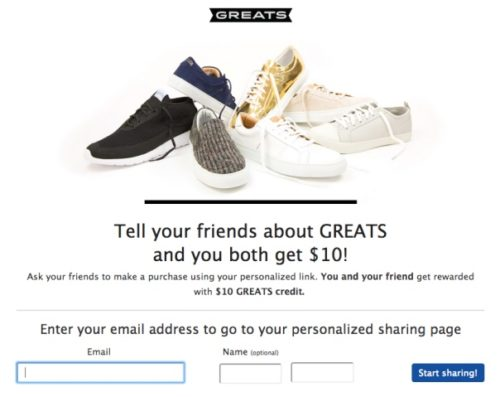 Example of Referral Marketing