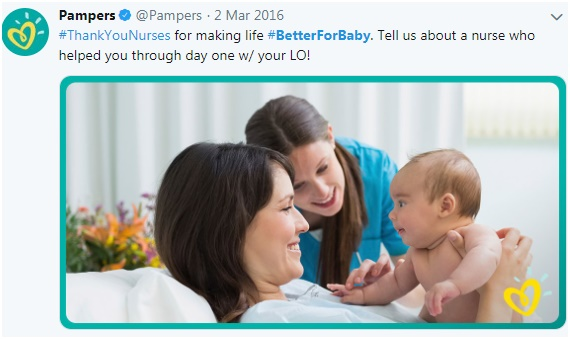 Pampers-#BetterForBaby campaign