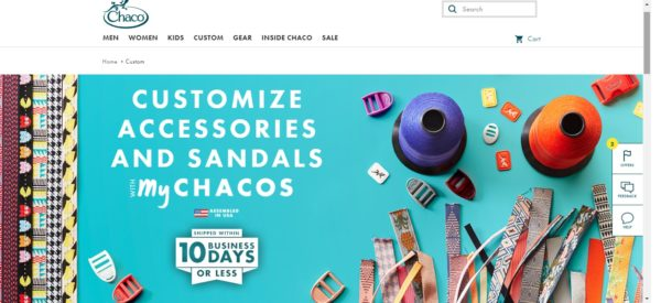 Chaco is a sandal manufacturing company