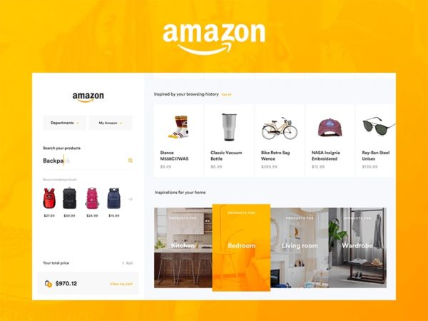 Amazon is a giant marketplace
