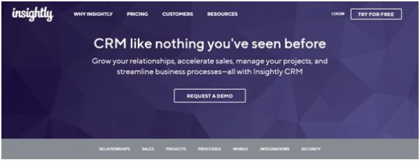 Insightly-Consolidated CRM