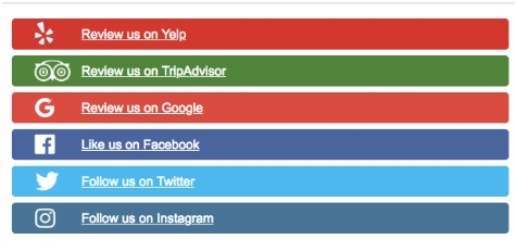 View the rating for your brand across multiple platforms