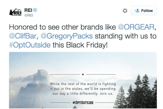 REI is a popular outdoor accessory