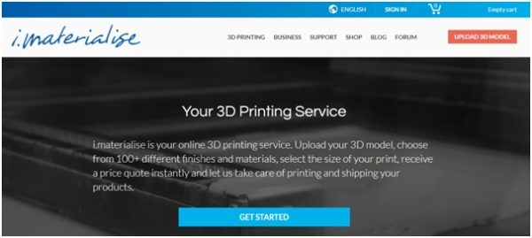 3-D printing services