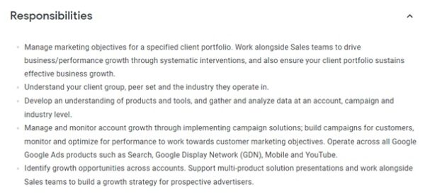 Example of hiring a campaign manager