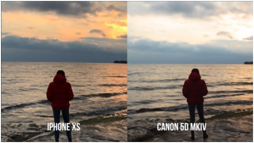 CANON and iPhone image quality