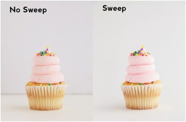 Different colored sweeps
