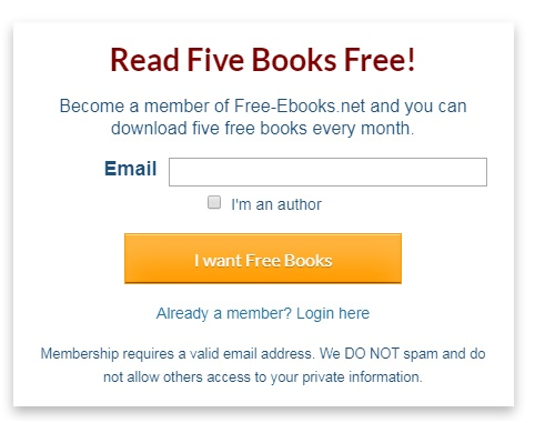 Example from Free-eBooks